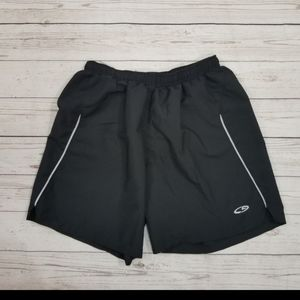 Champion Black athletic shorts built in Panty M